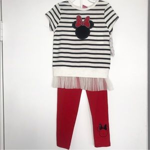 NWT Minnie Mouse 2-Piece outfit